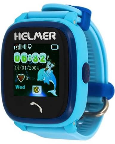 Inteligentné hodinky Helmer LK 704 dětské s GPS lokátorem modré