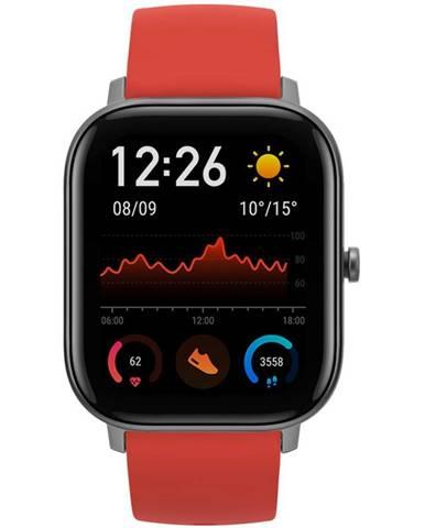 Inteligentné hodinky Amazfit GTS červené