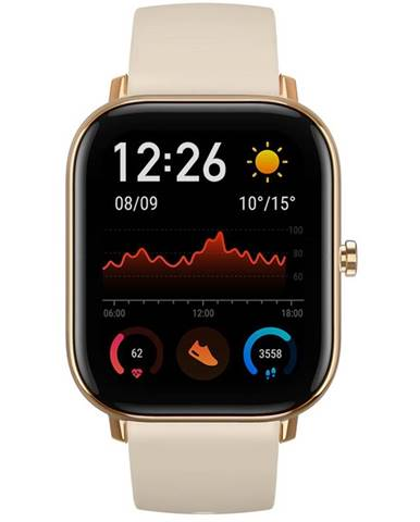 Inteligentné hodinky Amazfit GTS zlaté