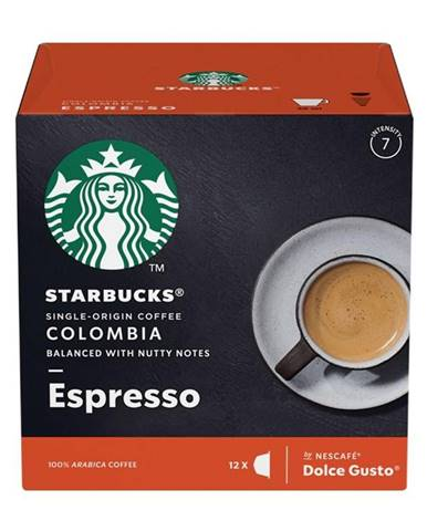 Kapsule pre espressa Starbucks Medium Espresso Colombia 12Caps