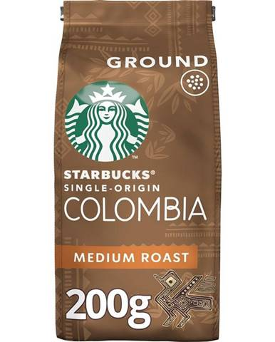 Káva mletá Starbucks Medium Colombia 200g