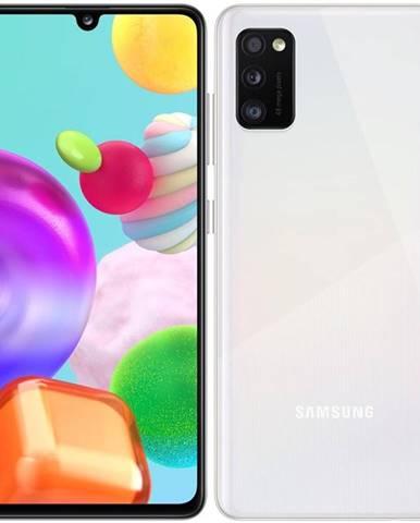 Mobilný telefón Samsung Galaxy A41 Dual SIM biely