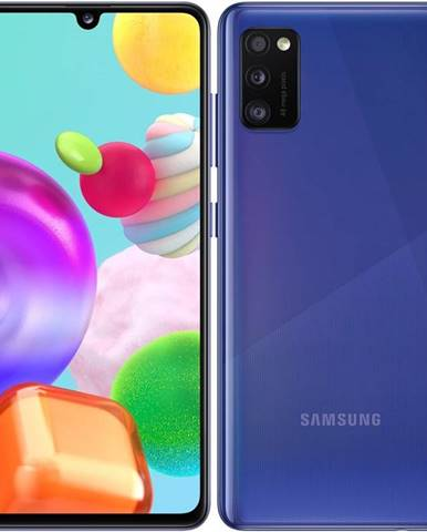 Mobilný telefón Samsung Galaxy A41 Dual SIM modrý