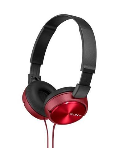 Slúchadlá Sony Mdrzx310r.AE červená