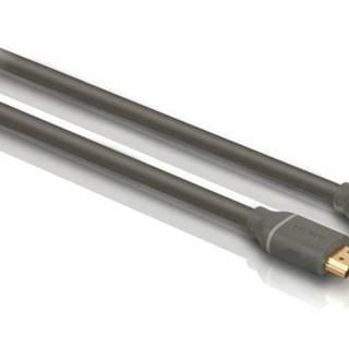 Kábel Philips Hdmi, pozlacené konektory, 1,5m čierny