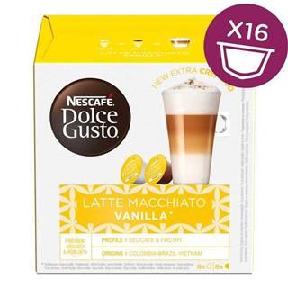 NescafÉ Dolce Gusto® Latté Macchiato Vanilla kávové kapsle 16 ks