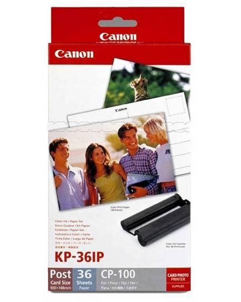 Canon Fotopapier Canon Kp36ip,10x15 cm, 36 listů pro Selphy biely