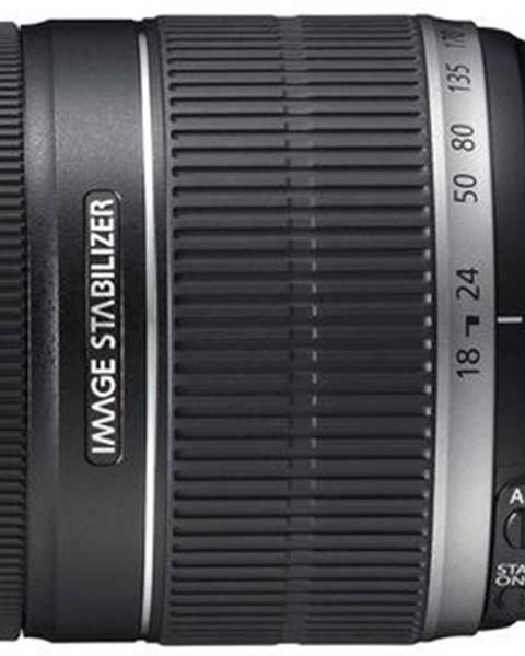 Canon Objektív Canon EF-S 18-200mm f/3.5-5.6 IS čierny