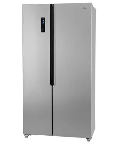 Americká chladnička ETA Side-by-Side 138890010 strieborn