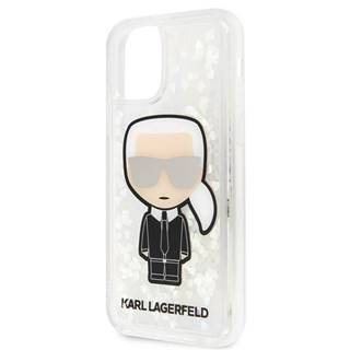 Kryt na mobil Karl Lagerfeld Glitter Iridescente na Apple iPhone 11