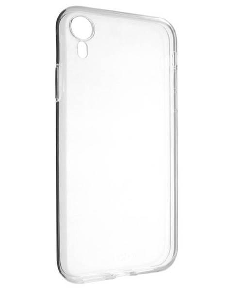 FIXED Kryt na mobil Fixed Skin na Apple iPhone XR priehľadný