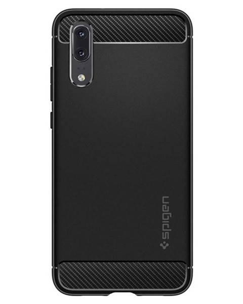 Spigen Kryt na mobil Spigen Rugged Armor na Huawei P20 čierny