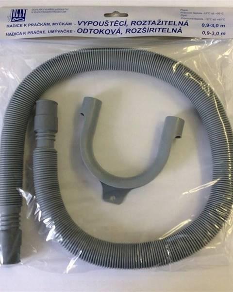 Jolly Odvodné hadice pre pračky  Jolly 5010 - 0,9-3 m siv