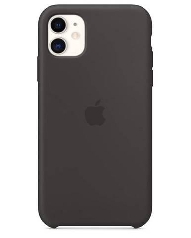 Kryt na mobil Apple Silicone Case pre iPhone 11 čierny