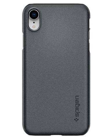 Kryt na mobil Spigen Thin Fit na Apple iPhone XR sivý