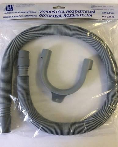 Odvodné hadice pre pračky  Jolly 5010 - 0,9-3 m siv