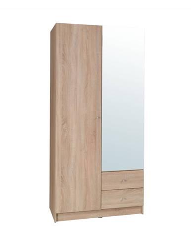 2-dverová skriňa dub sonoma MEXIM