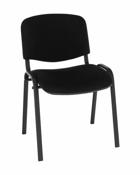 Tempo Kondela Kancelárska stolička čierna ISO NEW C11