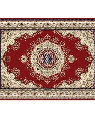 Koberec vínovočervená/mix farieb/vzor 133x190 KENDRA TYP 3