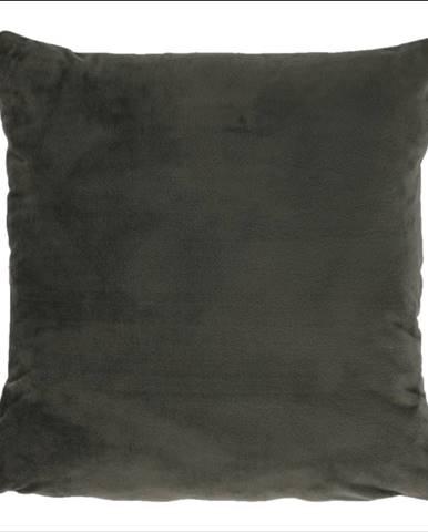Vankúš zamatová látka tmavozelená 60x60 OLAJA TYP 1