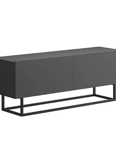 RTV stolík bez podstavy grafit SPRING ERTV120