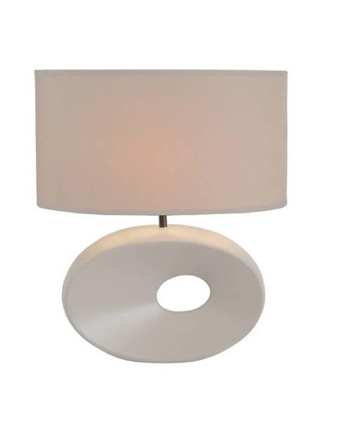 Kondela Keramická stolná lampa biela QENNY TYP 9 AT09115