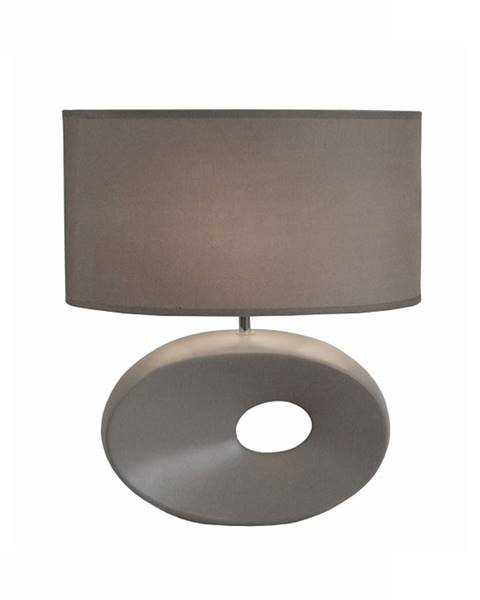 Kondela Keramická stolná lampa sivá QENNY TYP 11 AT09115