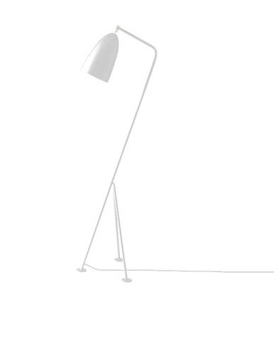 Stojacia lampa biely kov CINDA TYP 24 YF6250-W