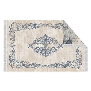 Obojstranný koberec vzor/modrá 180x270 GAZAN