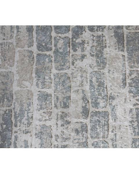 Tempo Kondela Koberec sivá/vzor tehla 120x180 MURO