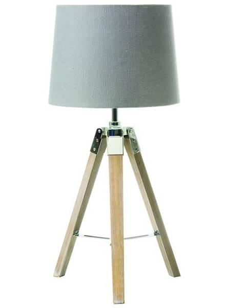 Tempo Kondela Stolná lampa sivá JADE TYP 2 8008-17B