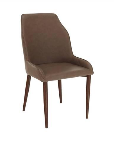 Jedálenská stolička hnedá IMPERIA