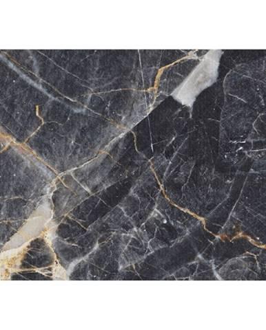 Koberec vzor čierny mramor 80x150 RENOX TYP 1