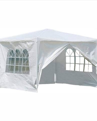 Záhradný párty stan biela 3x3 m TEKNO TYP 1 + 4 bočné strany