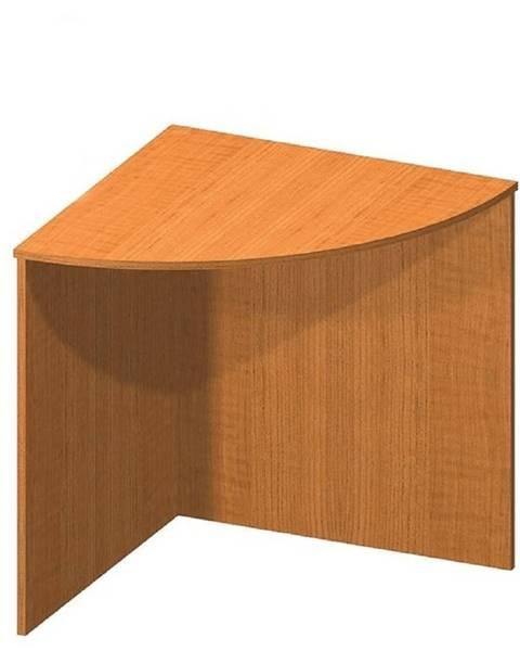 Tempo Kondela Stôl rohový oblúkový čerešňa TEMPO ASISTENT NEW 024