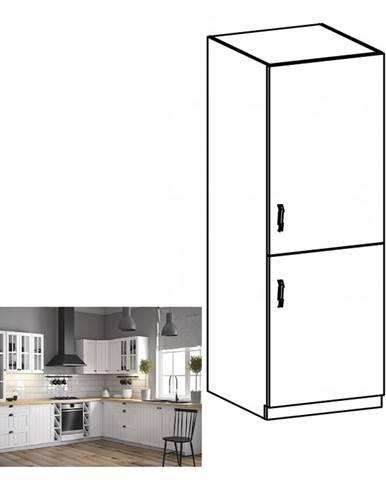 Dolná skrinka na vstavanú chladničku D60ZL pravá biela/sosna Andersen PROVANCE