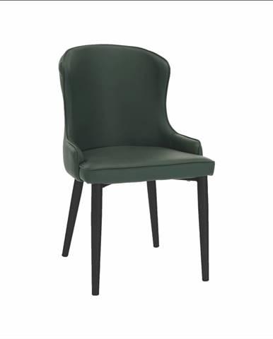 Jedálenská stolička zelená/čierna SIRENA rozbalený tovar