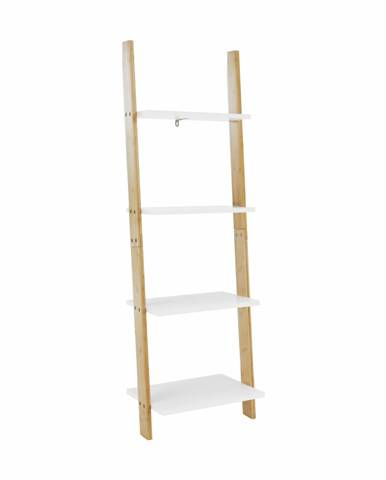 Regál biela/bambus GAPA TYP 2