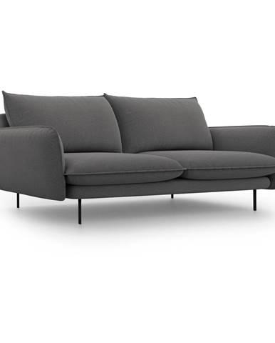 Tmavosivá pohovka Cosmopolitan Design Vienna, 200 cm