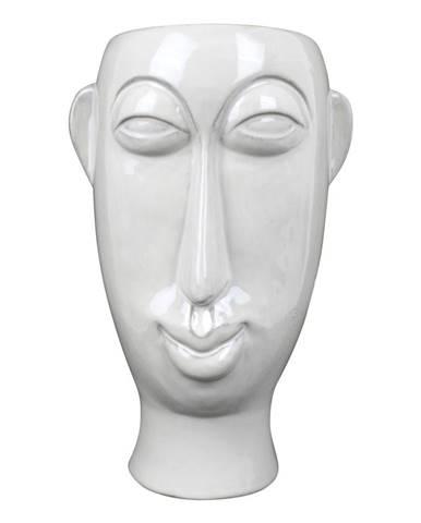 Biela porcelánová váza PT LIVING Mask, výška 27,2 cm