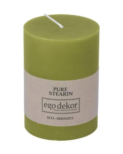 Baltic candles Zelená sviečka Eco candles by Ego dekor Friendly, doba horenia 37 h