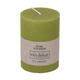 Zelená sviečka Eco candles by Ego dekor Friendly, doba horenia 37 h