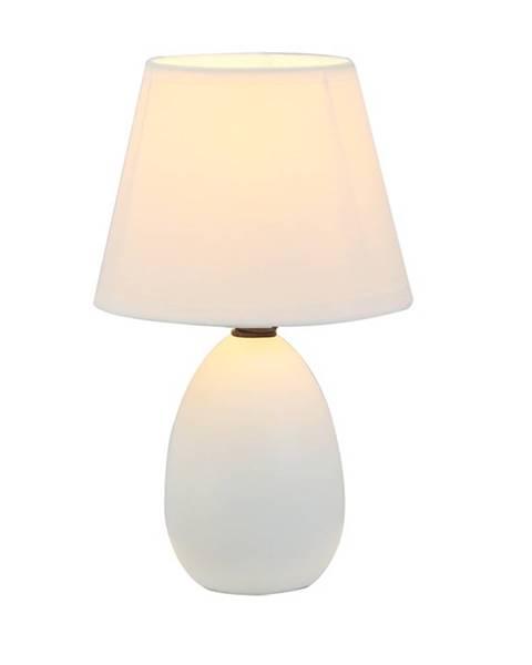 Tempo Kondela Keramická stolná lampa biela QENNY TYP 12 AT09350