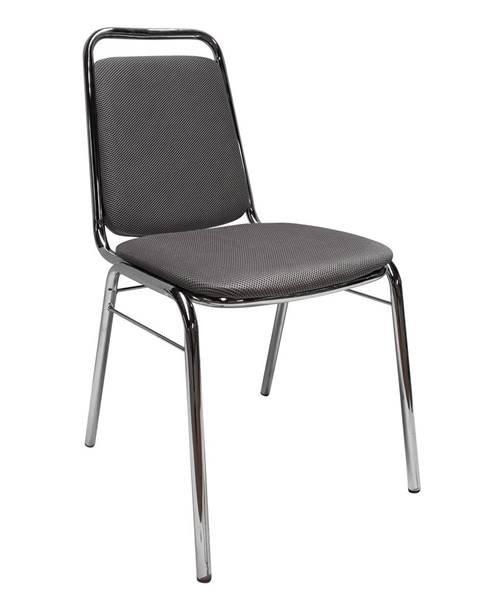 Kondela Zasadacia stolička sivá sieťovina ZEKI