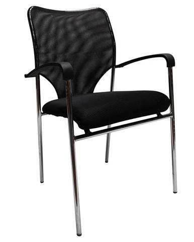 Zasadacia stolička čierna UMUT