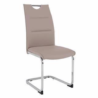 Jedálenská stolička svetlohnedá TOSENA rozbalený tovar