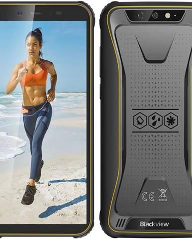 Mobilný telefón iGET Blackview GBV5500 Plus žltý