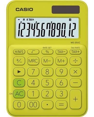 Kalkulačka Casio MS 20 UC YG žlt