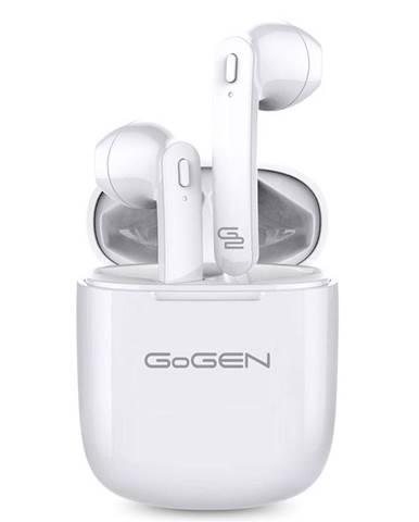 Slúchadlá Gogen TWS BAR biela