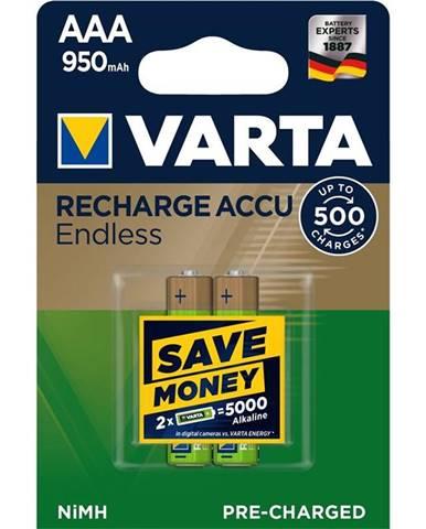 Batéria nabíjacie Varta Endless HR03, AAA, 950mAh, Ni-MH, blistr
